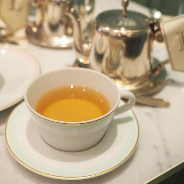 テ ア ラ フルール オランジェ 中国の青茶にオレンジの花びらとエッセンスをブレンドしたフレーバーティー