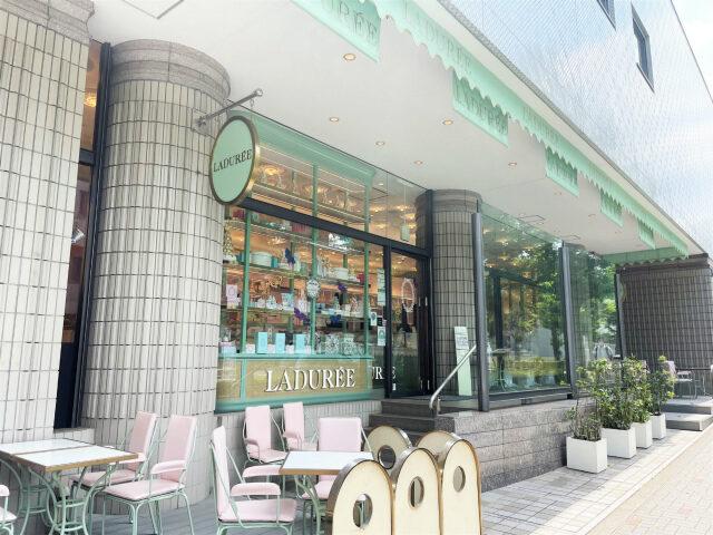 ラデュレ サロン・ド・テ 渋谷松濤店の外観