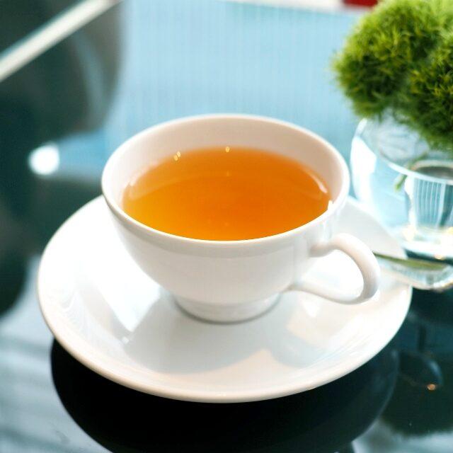 パイムータン&メロン パイムータンは白牡丹のお茶、お茶の分類でいうと白茶です。
