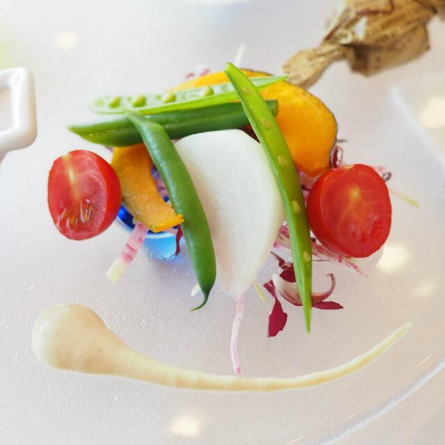 季節野菜 ニンニクとアンチョビのディップ
