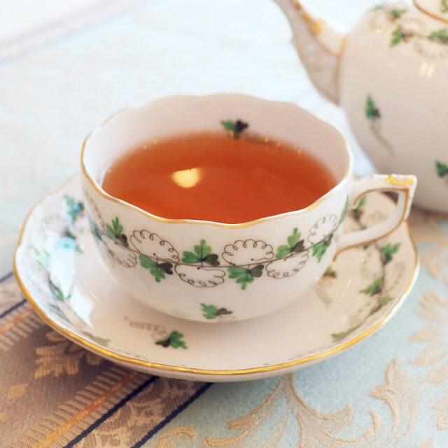 オーガニックアールグレイ マイティーリーフのアールグレイは中国茶がベースです。