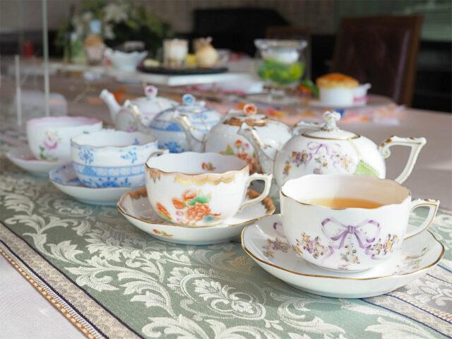 venire shinjuku afternoontea teaware01