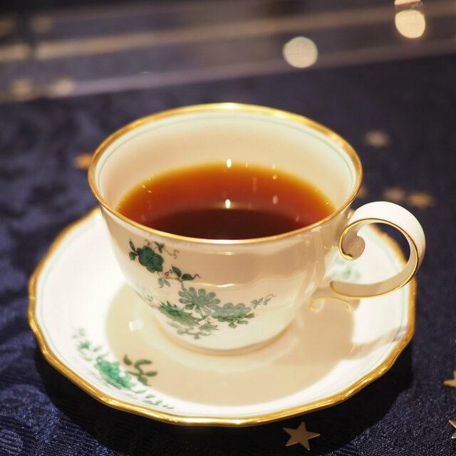 コーヒー クリスタルマウンテンウィーンはカフェ文化の国ということで、今回はコーヒーが2種類