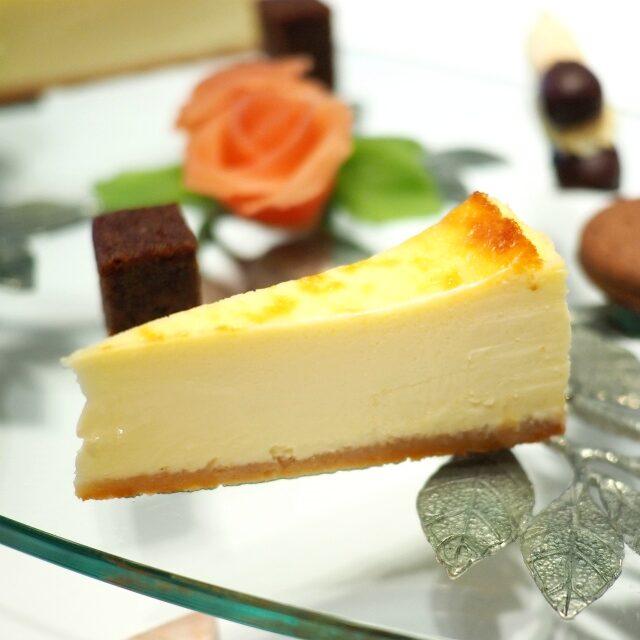 ケーゼトルテ 銀座ファイルヒェン自家製のチーズケーキ