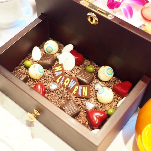 お菓子の宝石箱「お化けのいたずらボックス仕様」の下段