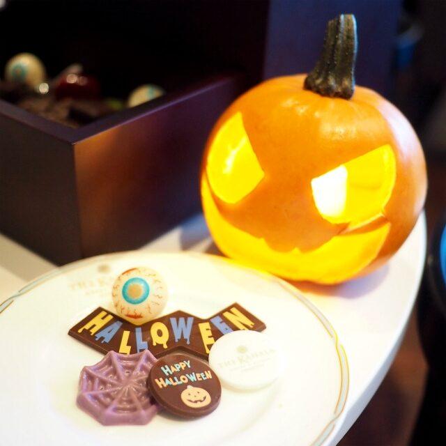 ハロウィン仕様のチョコレートがいろいろ入ってて楽しい♪