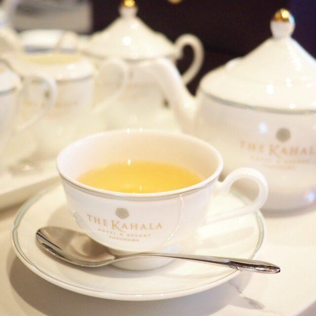 ジャパン 煎茶に白桃の香りをプラスしたオリジナルフレーバーティー