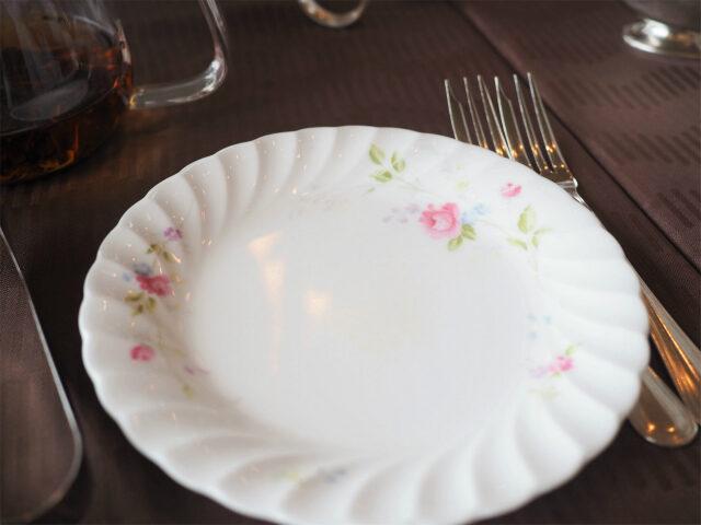 お取り皿はNIKKOでした。