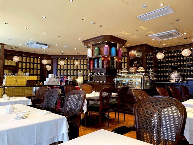 お店にあるお茶の種類は約300種類!