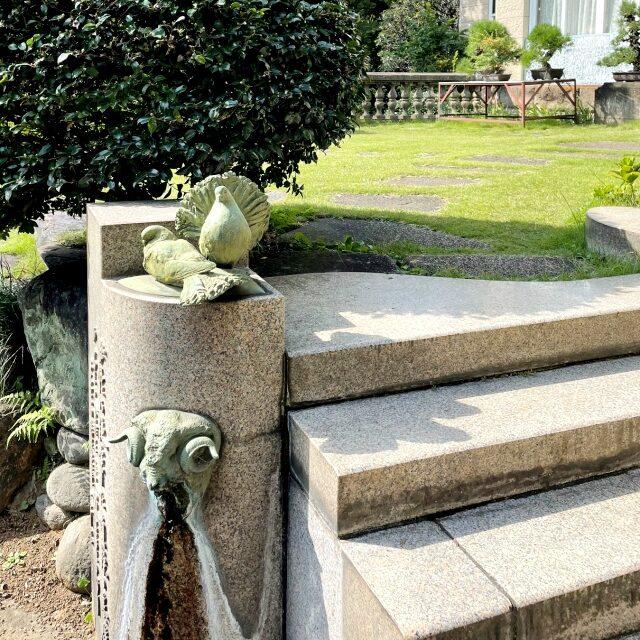 アフタヌーンティーの前には鳩山会館のお庭を探索!