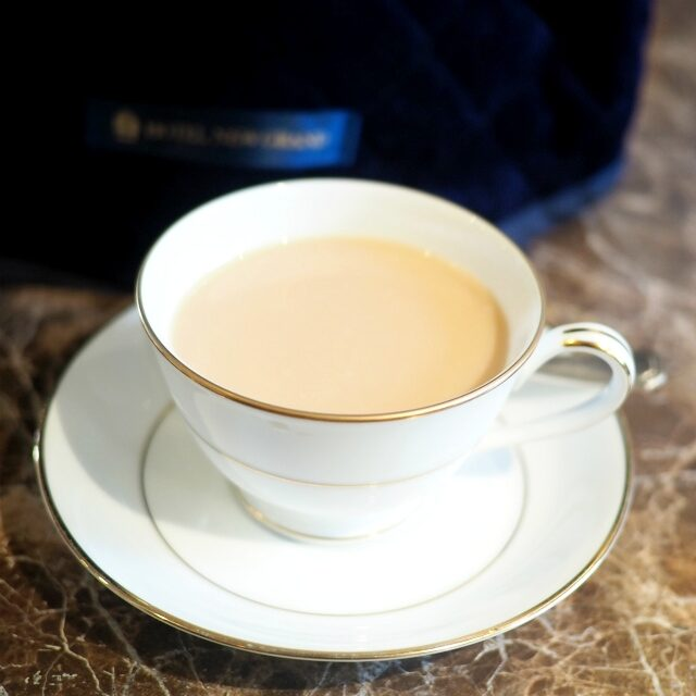 ウバもミルクティーによく合う紅茶。スッキリミルクティーはこっくりスイーツによく合います!