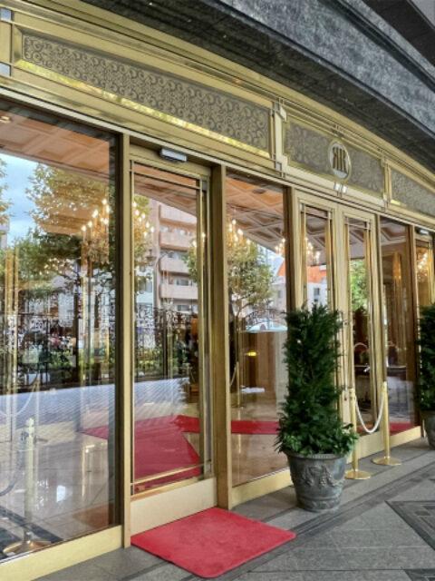リーガロイヤルホテル東京のホテルエントランス