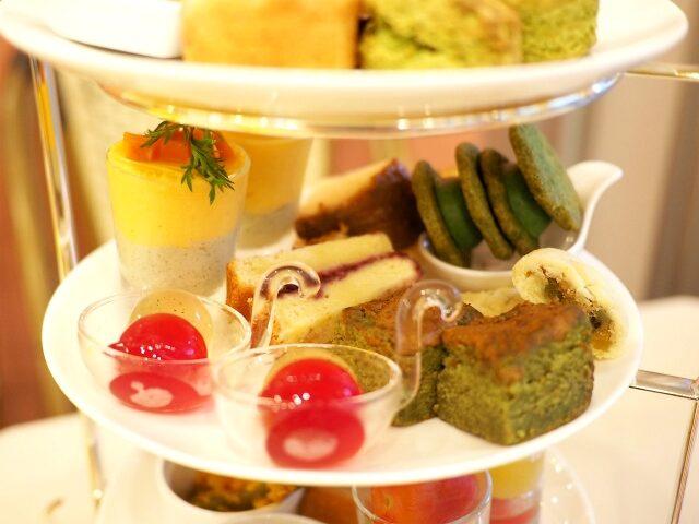 sakura cafe afternoontea sweets01