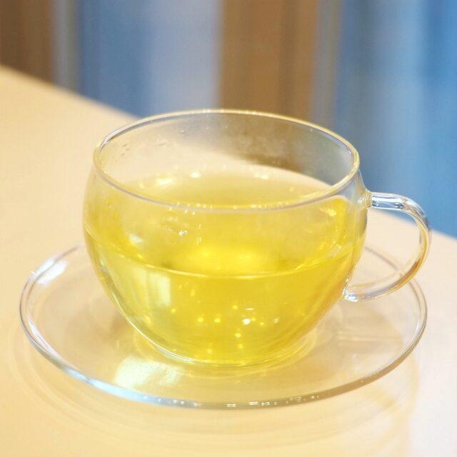 熊笹の葉免疫力を高めてくれるお茶。ほのかな甘みで飲みやすかった!